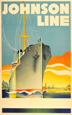 a fancy Art Deco cruise ship (photo credit: antikbar.co.uk)