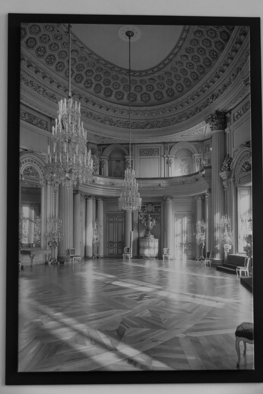 image of interior before WWII