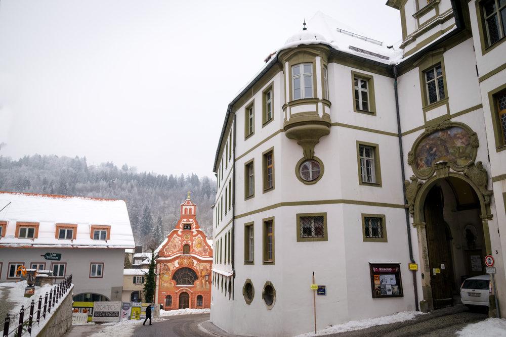 monestary / library / city museum