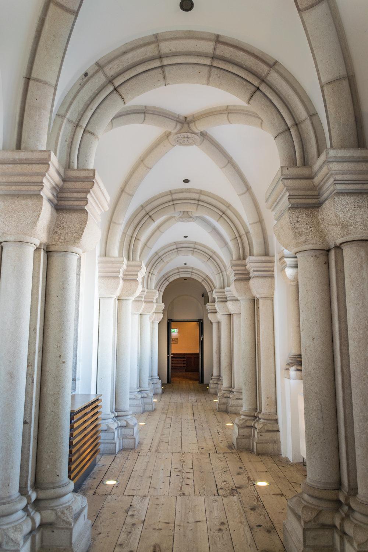 passage inside castle