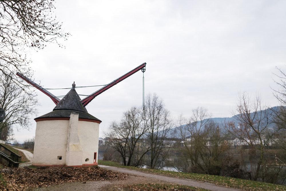 nearby windmill
