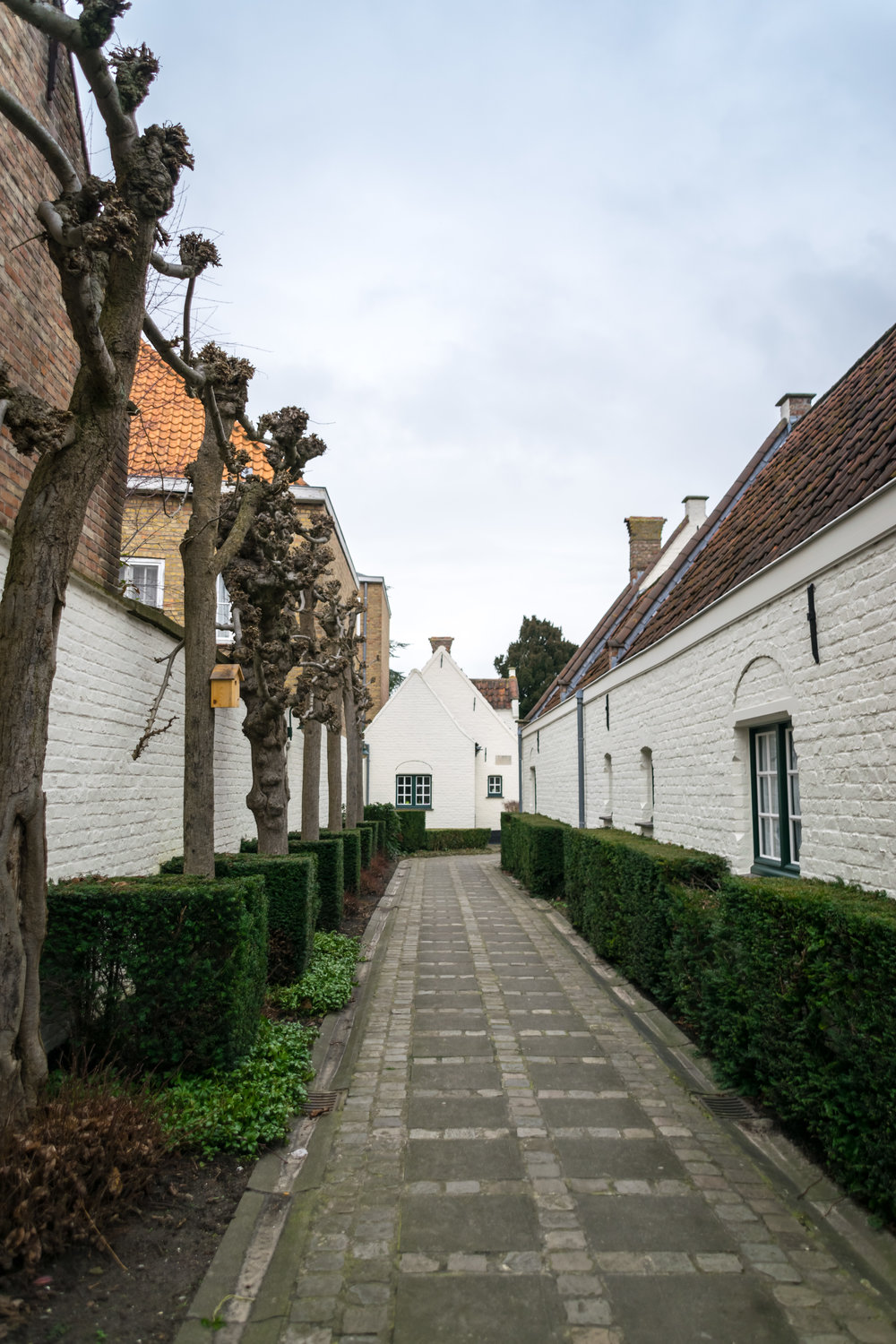 these almshouses (godshuizen) were built for the aged and widowed