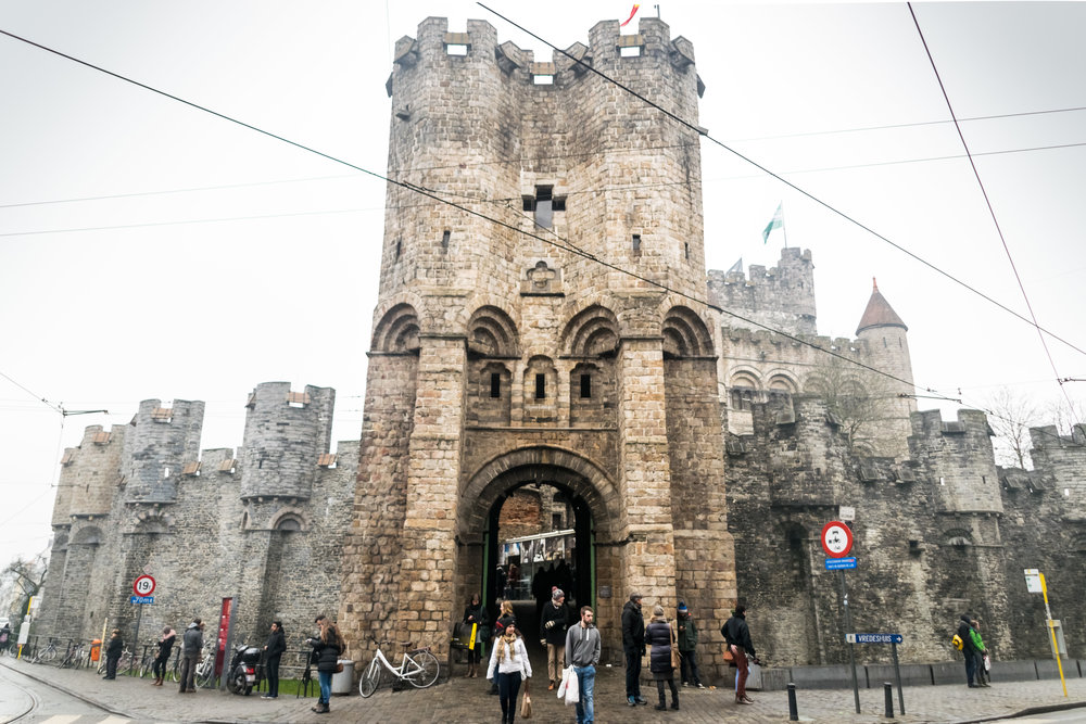 the 12th century Gravensteen, or Castle of the Counts