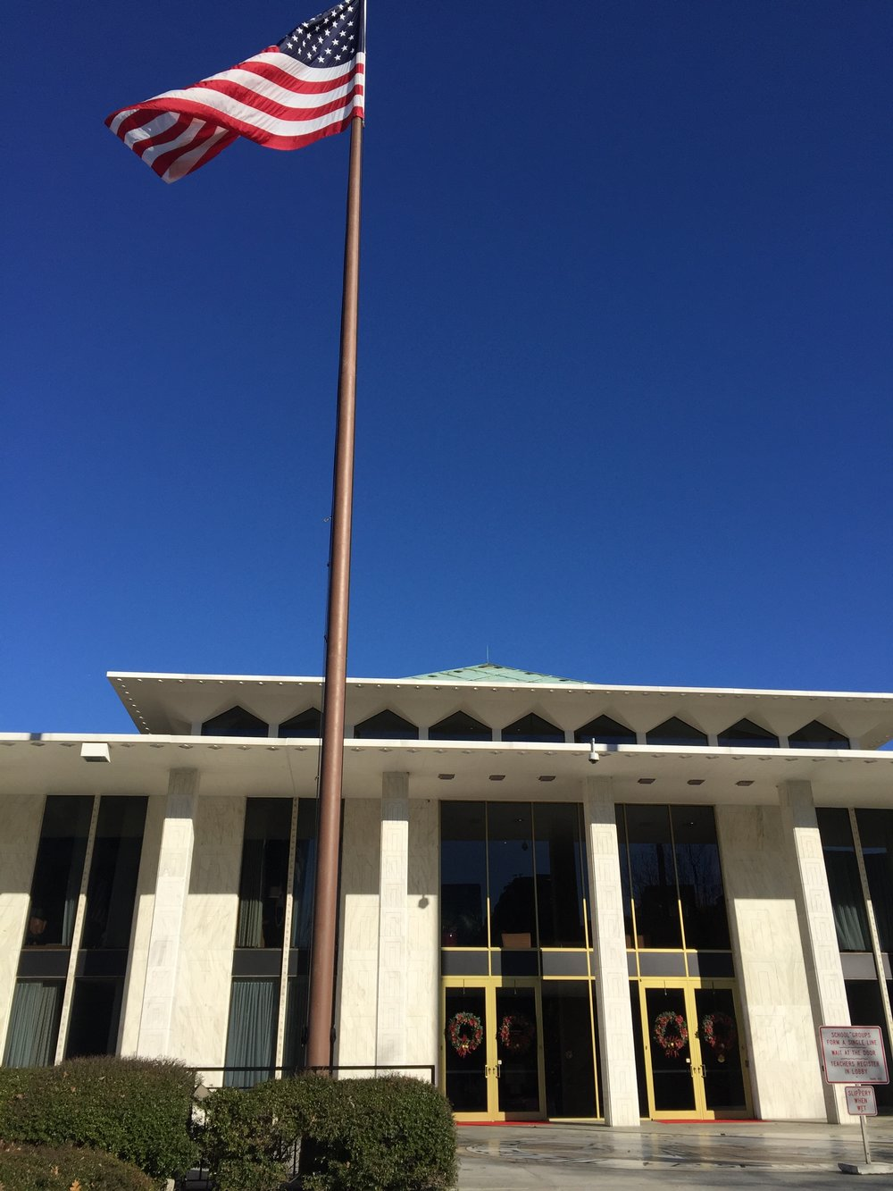 NC Legislative Building, December 2015