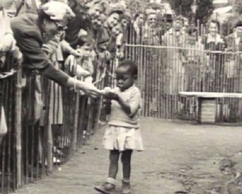 scene from the 'human zoo' (photo credit: atlantablackstar.com)