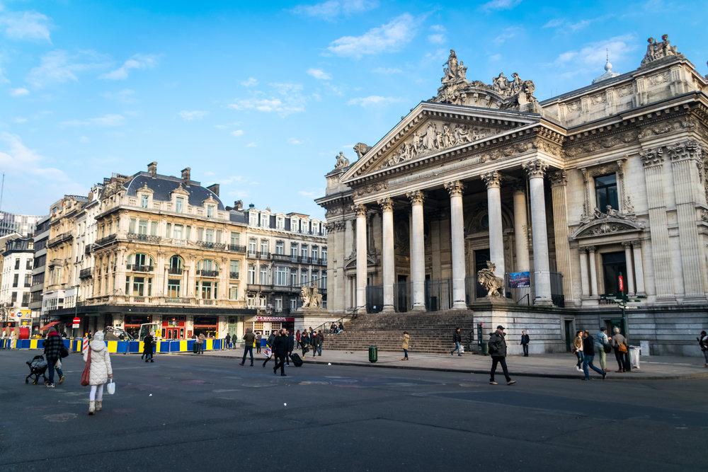 Le piétonnier de Bruxelles