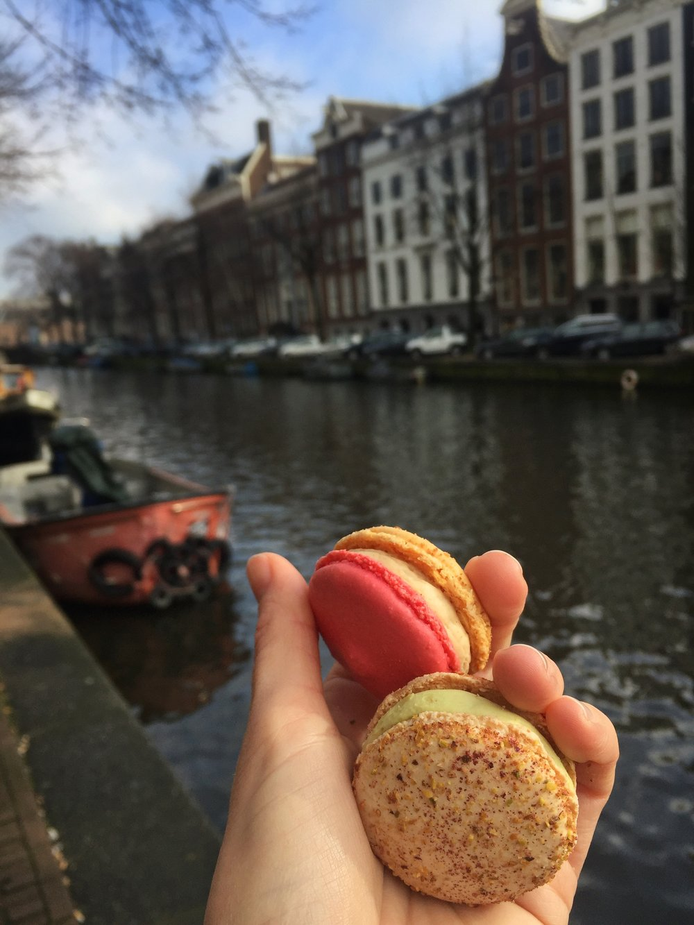 macaroons in Amsterdam
