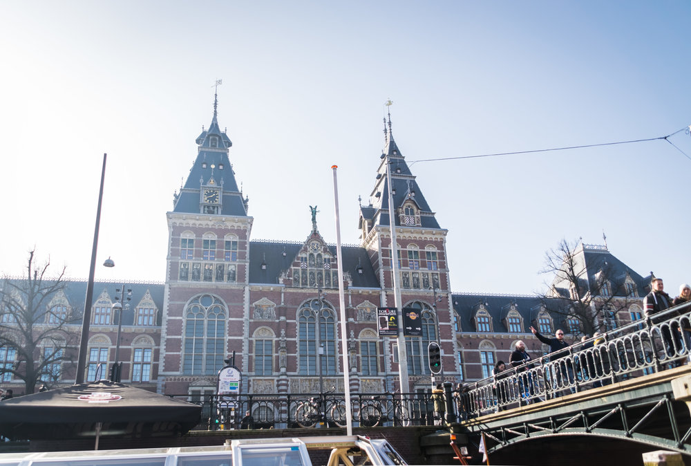 the 1885 Rijksmuseum, also designed by Cuypers