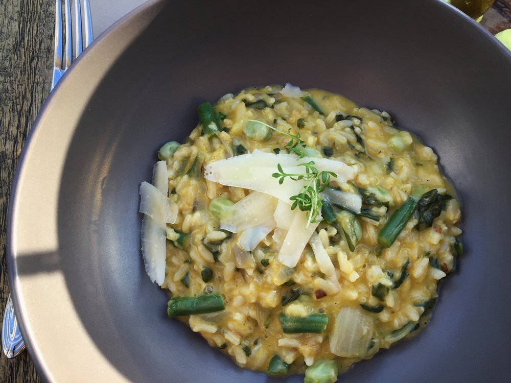 vegetable risotto at Olive Tree (Split)