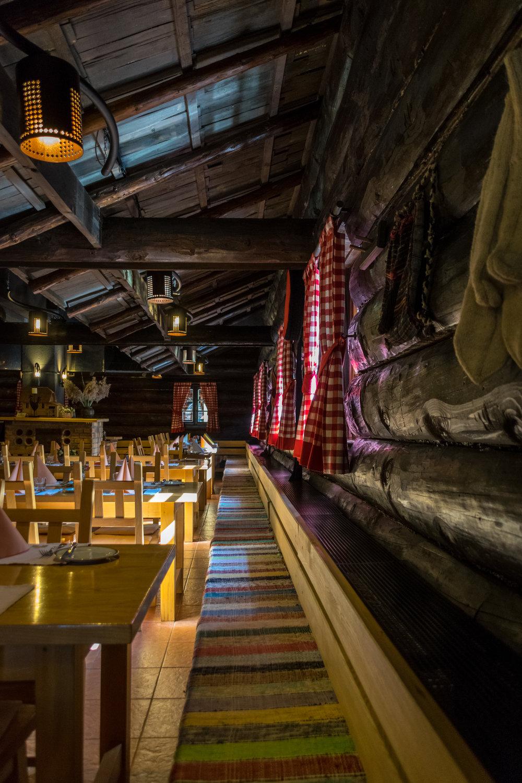 cozy interior of Restoran Lička kuća (Plitvice)