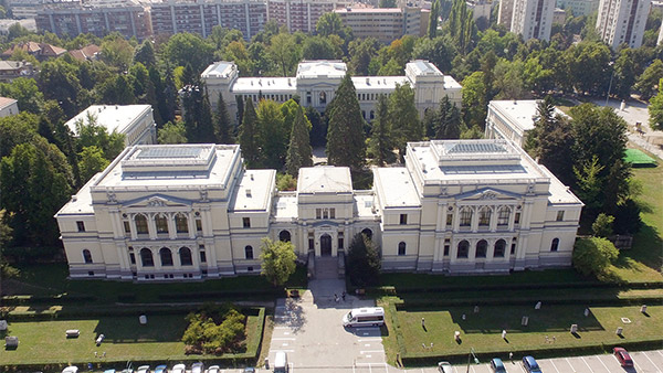 aerial view of museum (photo credit: sarajevo.travel)