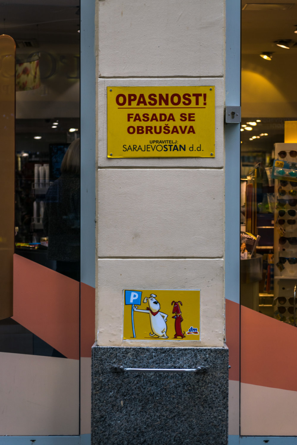 dog parking in Sarajevo