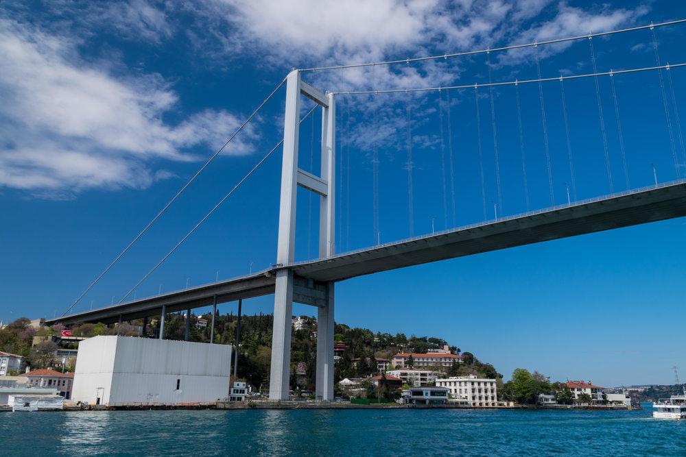 15 July Martyrs Bridge (Bosphorus suspension bridge)
