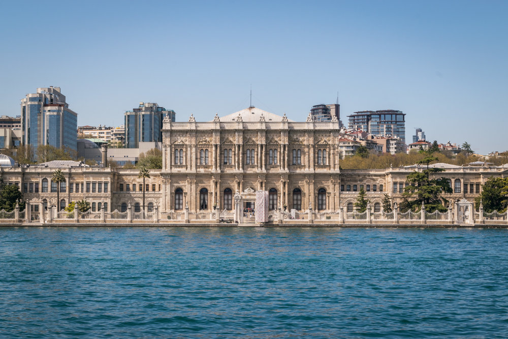 Dolmabahçe Palace, the sultans' main residence after Topkapi Palace