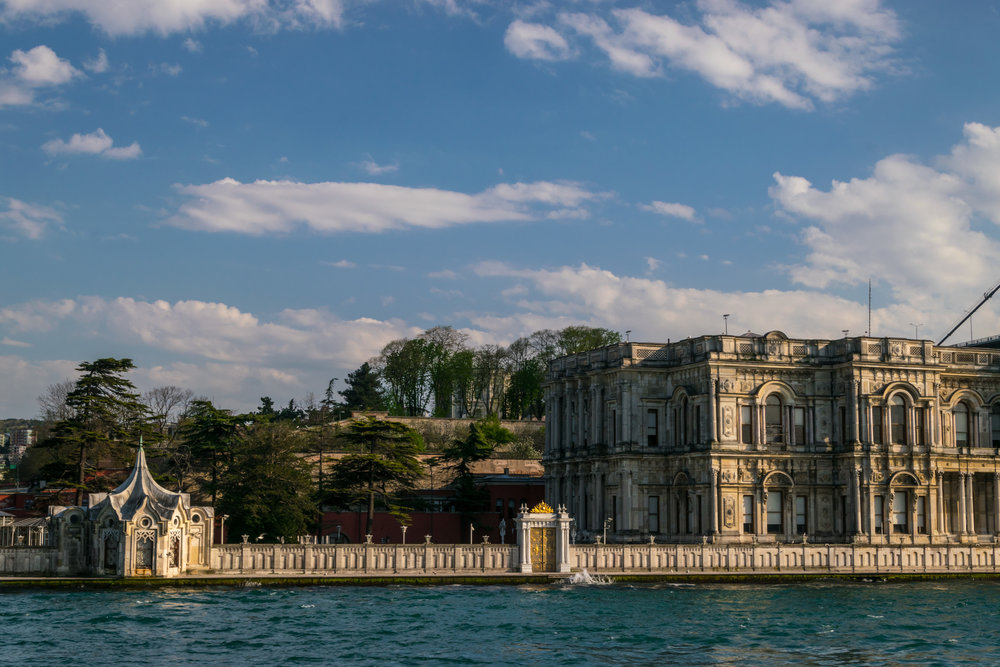Beylerbeyi Palace, a summer residence for sultans