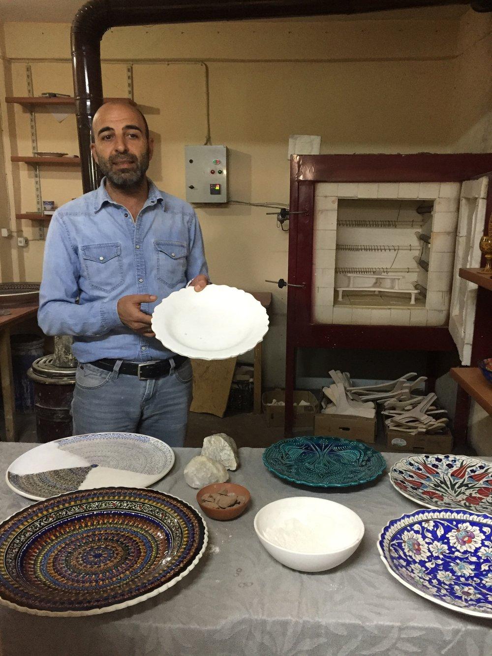 pottery shop in Avanos