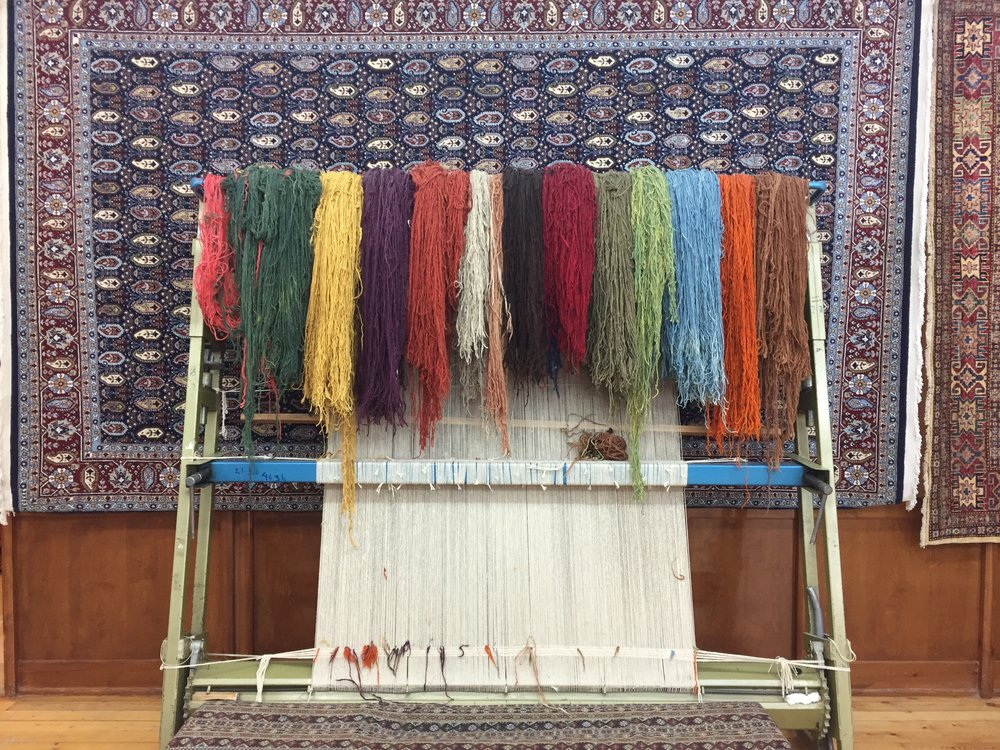 supplies for rug-making