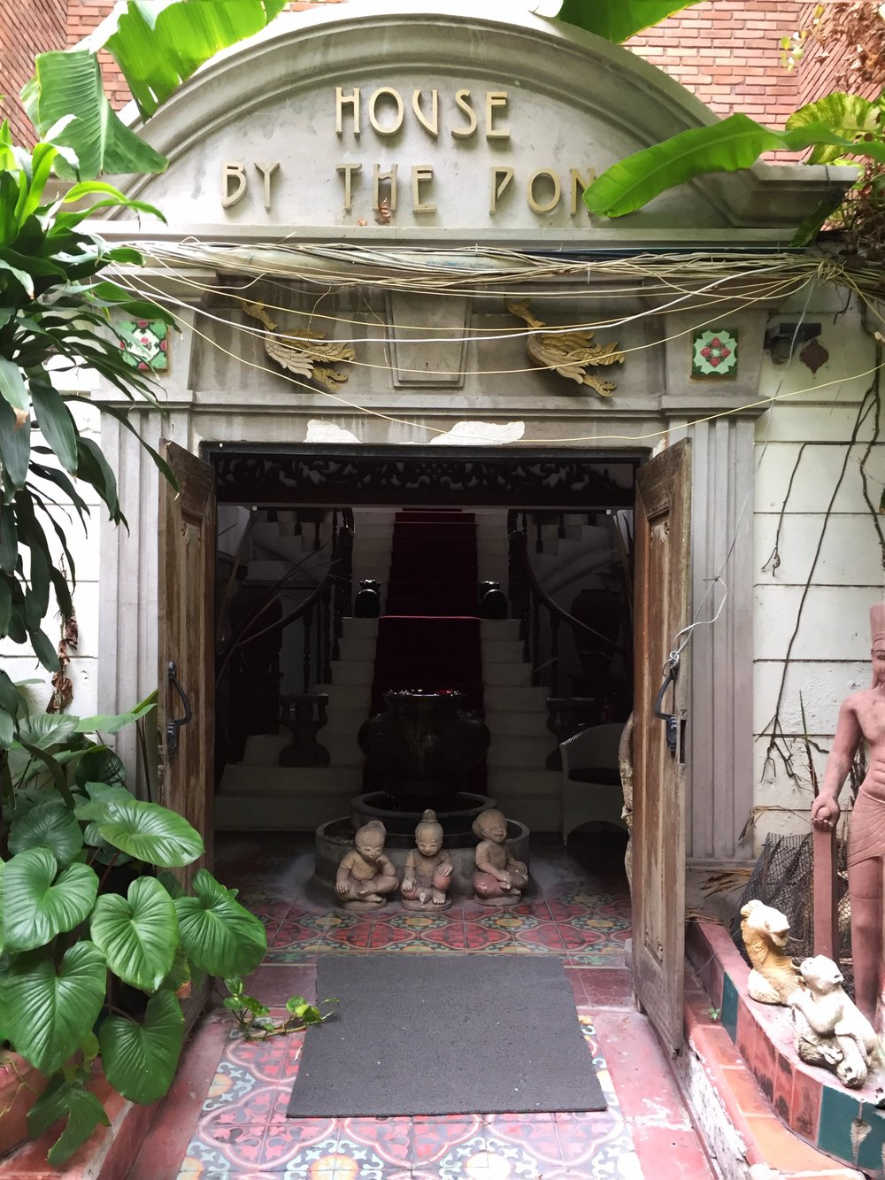 my old-school Thai hotel in Bangkok