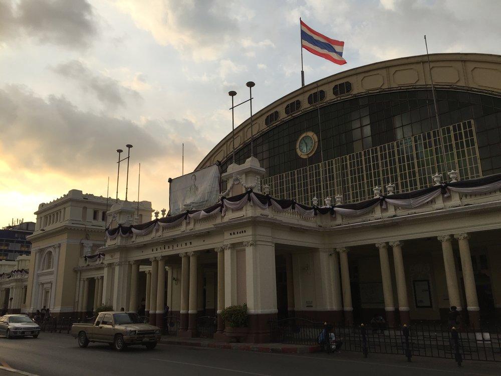 Bangkok's Hua Lamphong Station