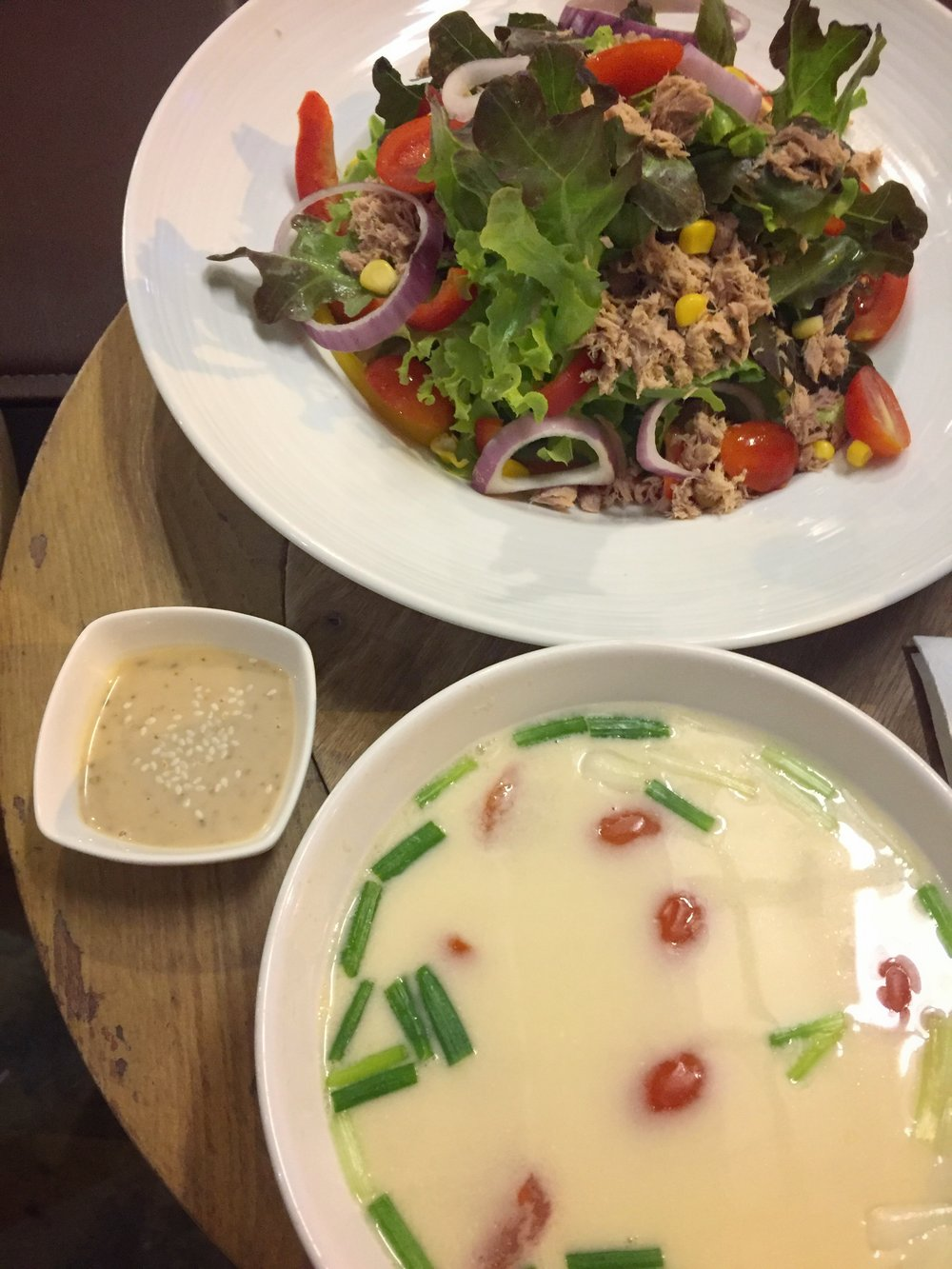 tuna salad & coconut soup (Eleven Two & Co, Old Phuket Town)