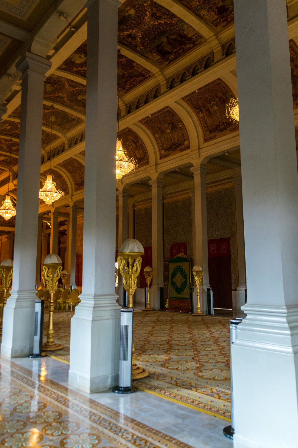 inside the Throne Hall