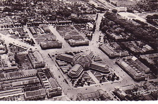 aerial of Central Market, 1937 (photo credit:  belleindochine.free.fr )