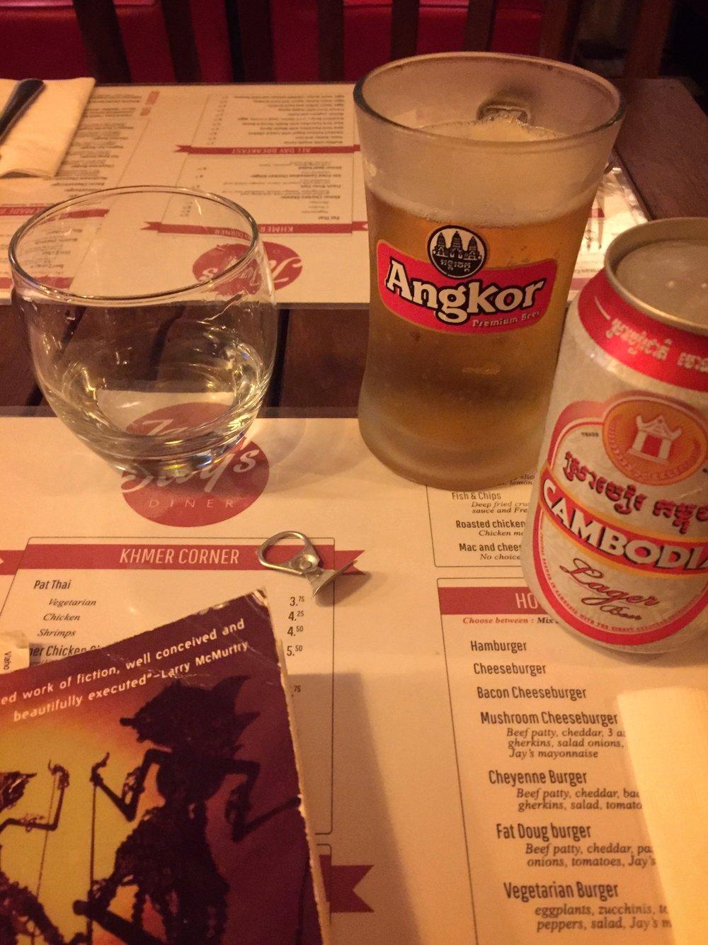 loving Cambodia's pull-tab beer