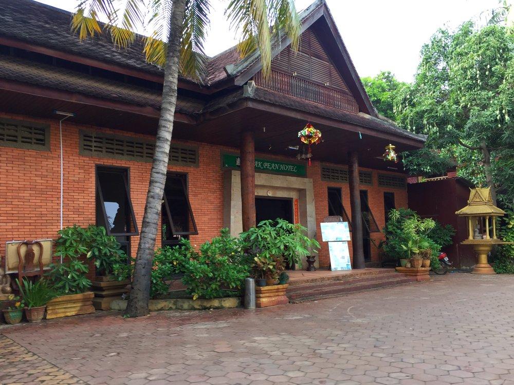 my hotel, Neak Pean