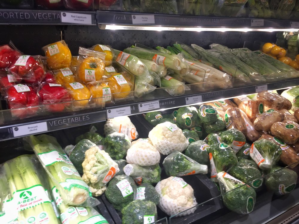more plastic than produce