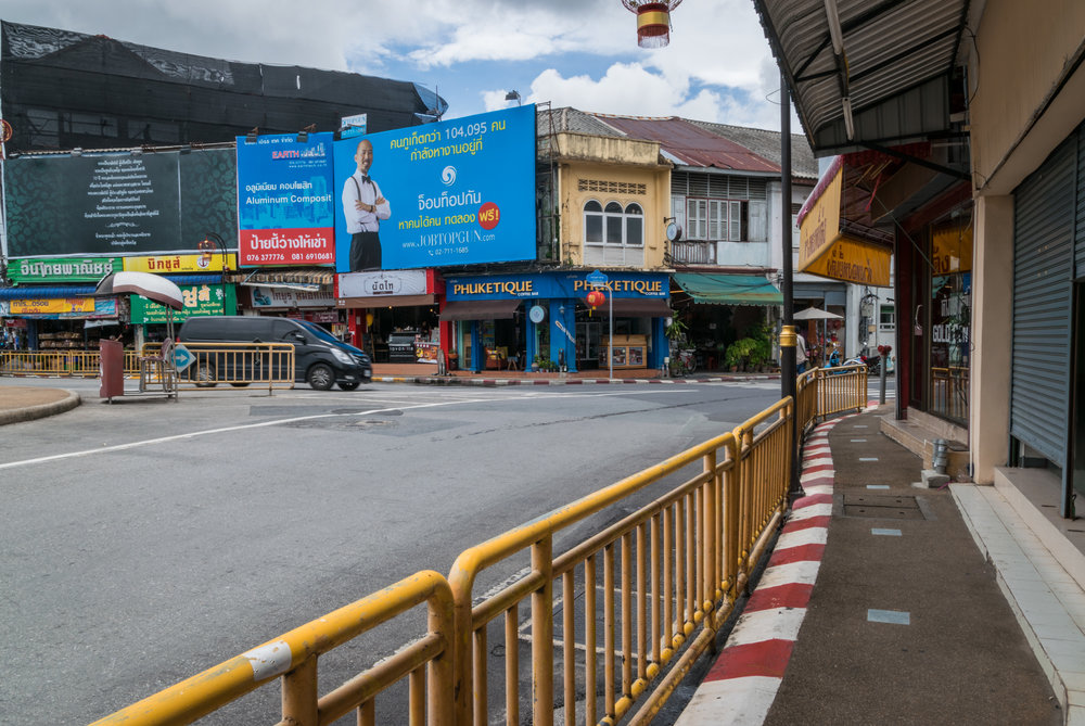 results of Phuket's pedestrianization project