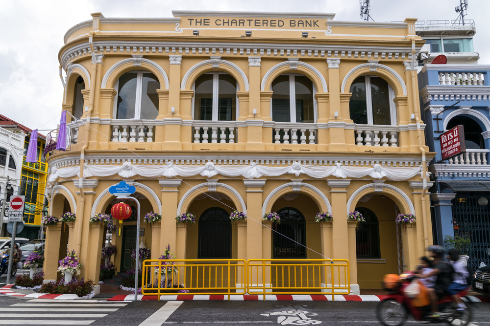 one of Old Phuket Town's old buildings
