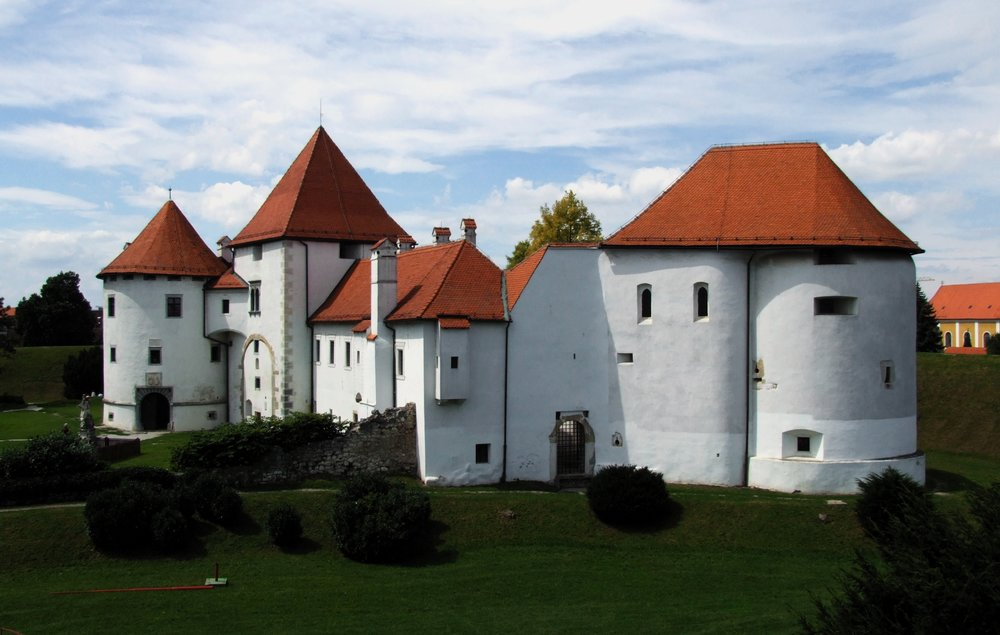 Varazdin Castle (photo credit: Pudelek, Wikipedia)