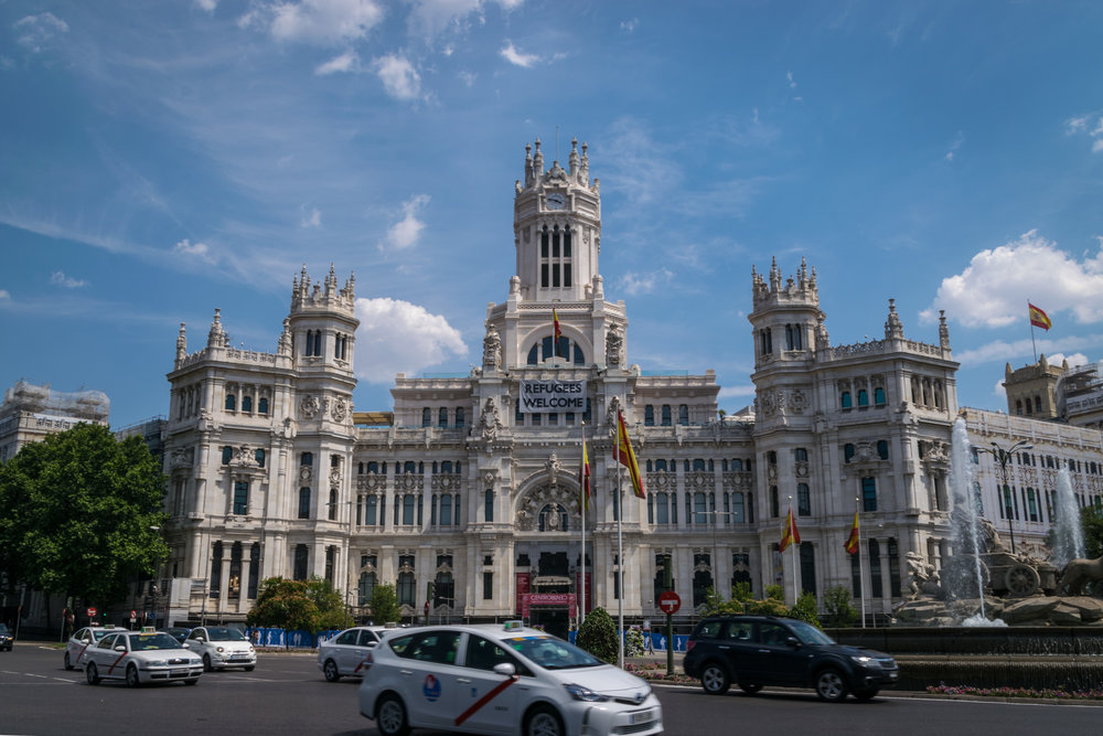 City Hall / Centro Centro and Cibeles fountain