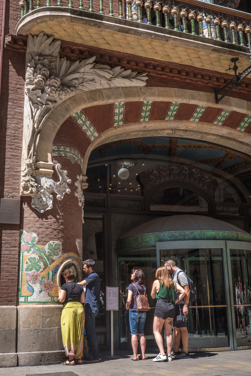 UNESCO-listed Palau de la Musica Catalana and Hospital de Sant Pau
