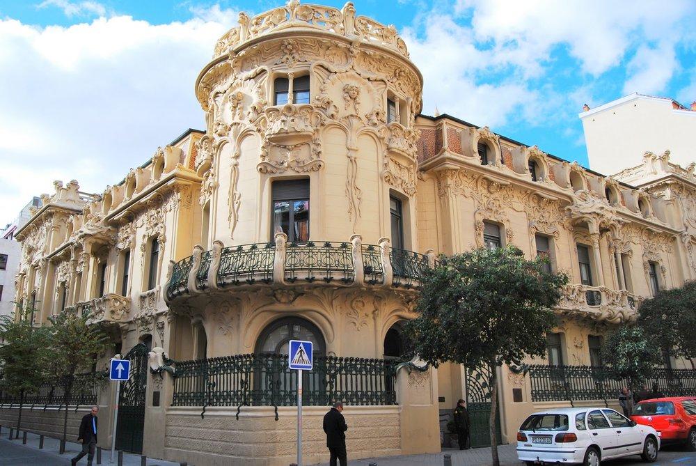 Palacio de Longoria (photo credit:  madridhaciaarriba.blogspot.com.es )