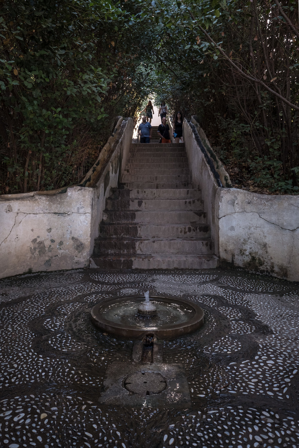 water stairway (so tranquil!)