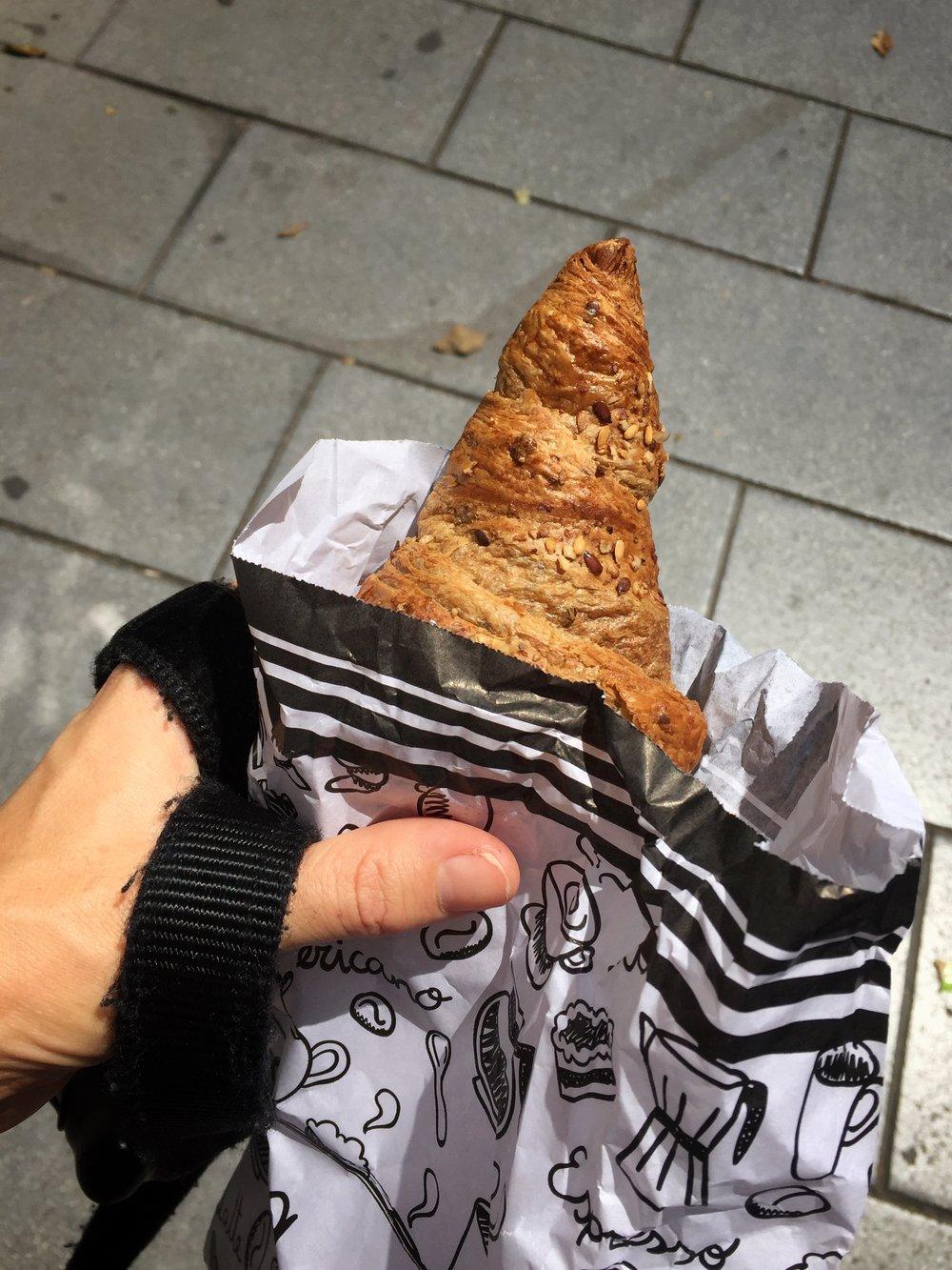 multi-grain croissant