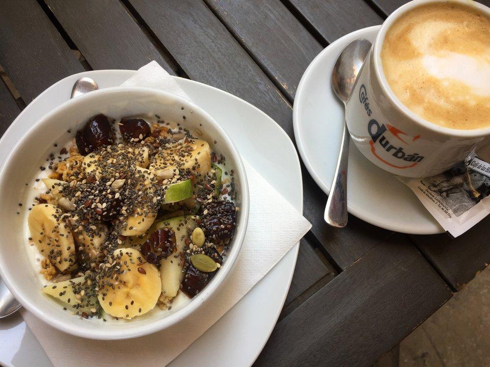 breakfast in Valencia