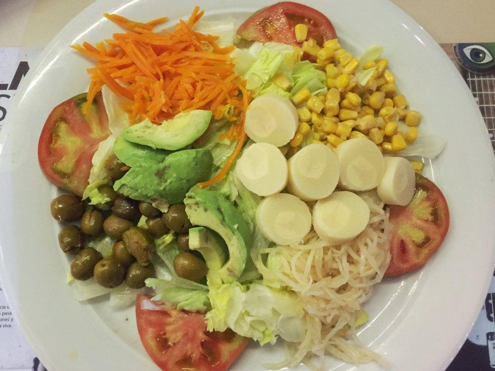 mixed salad in Granada