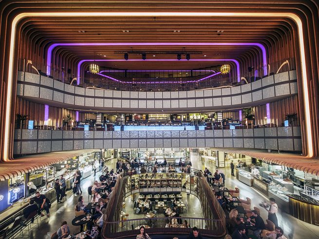 inside Platea Madrid (photo credit:  Saveur.com )