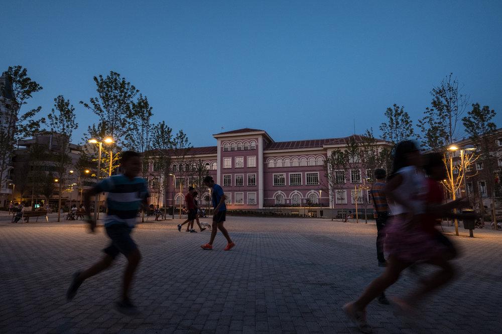 Colegio Isabel la Católica & Jardines del Arquitecto Ribera