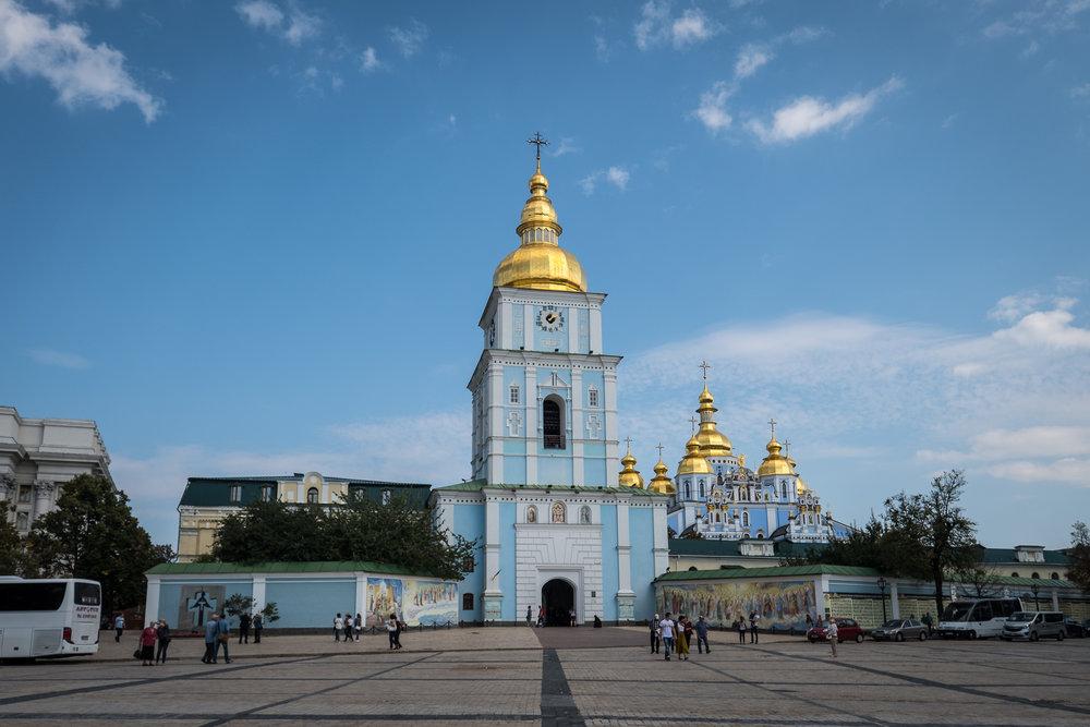 St. Michael's Golden-Domed Monastery's belltower