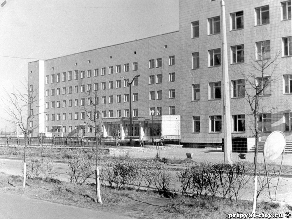 hospital, before