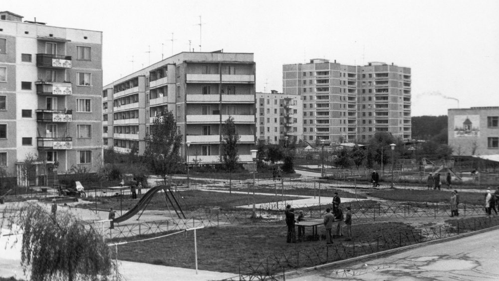 typical Pripyat apartments (photo credit: Wallpaperup)
