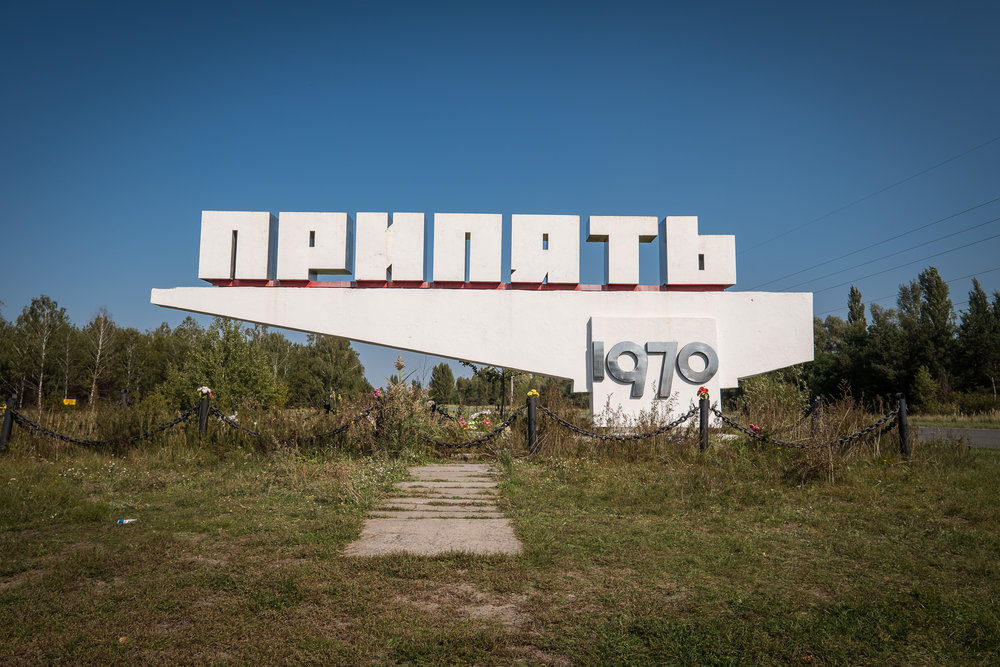 You are now entering Pripyat.
