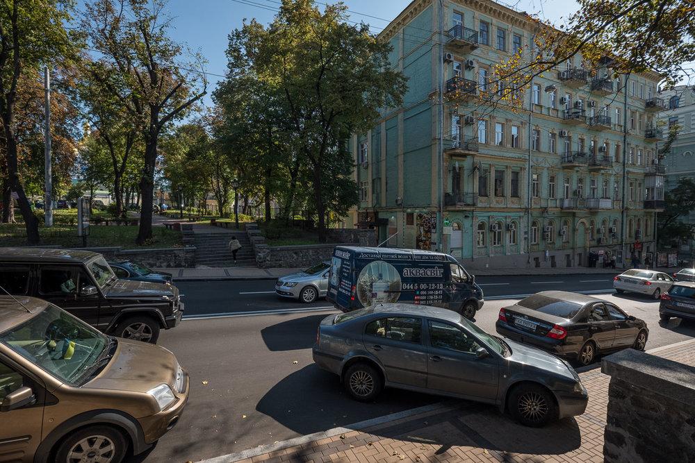 parking in Kiev