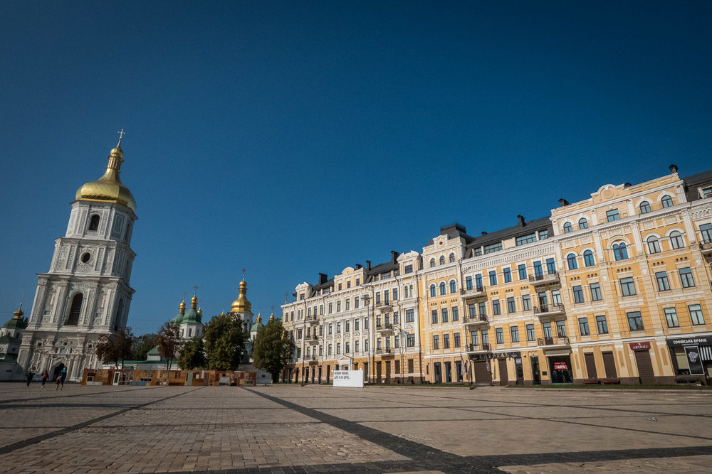 in Kiev: so many missed opportunities for outdoor cafes and vibrant public spaces