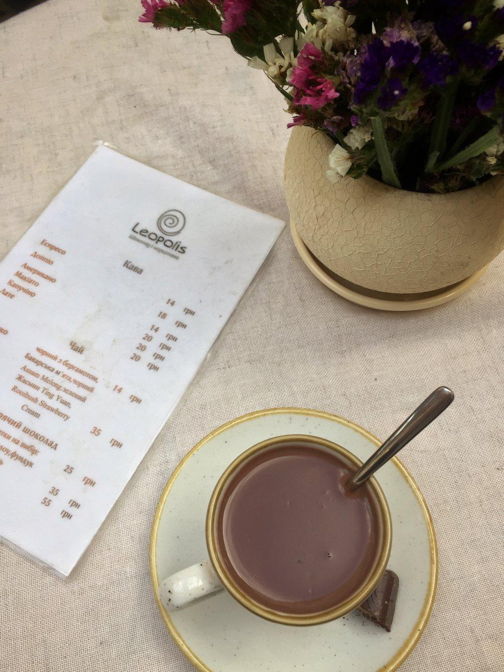 Lviv chocolate shop