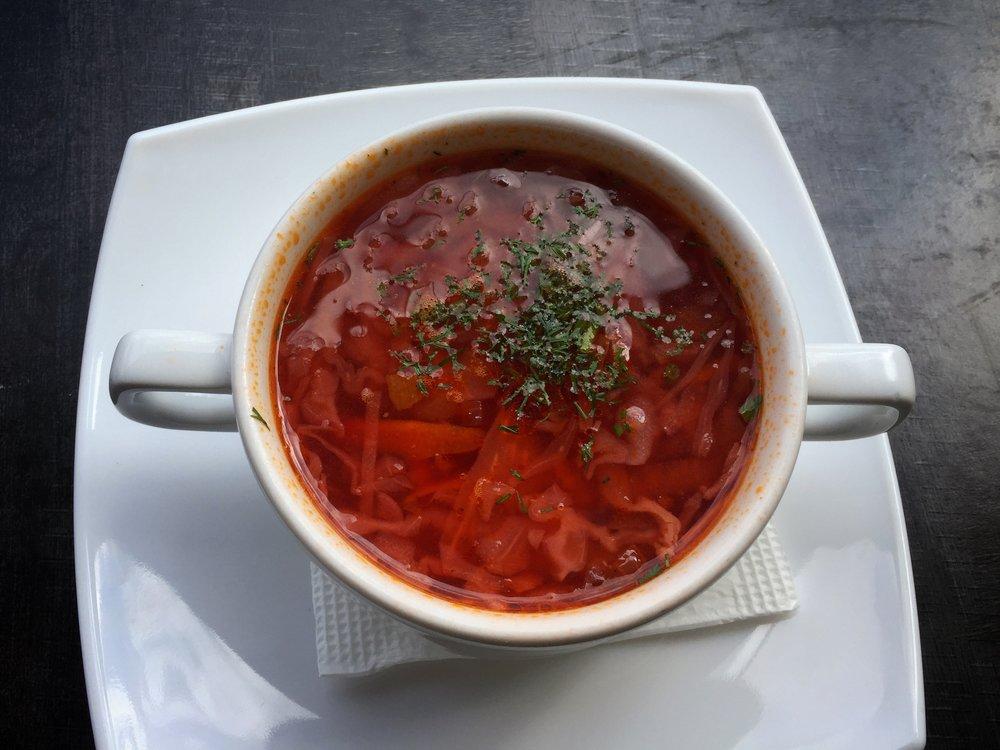 vegetarian borscht