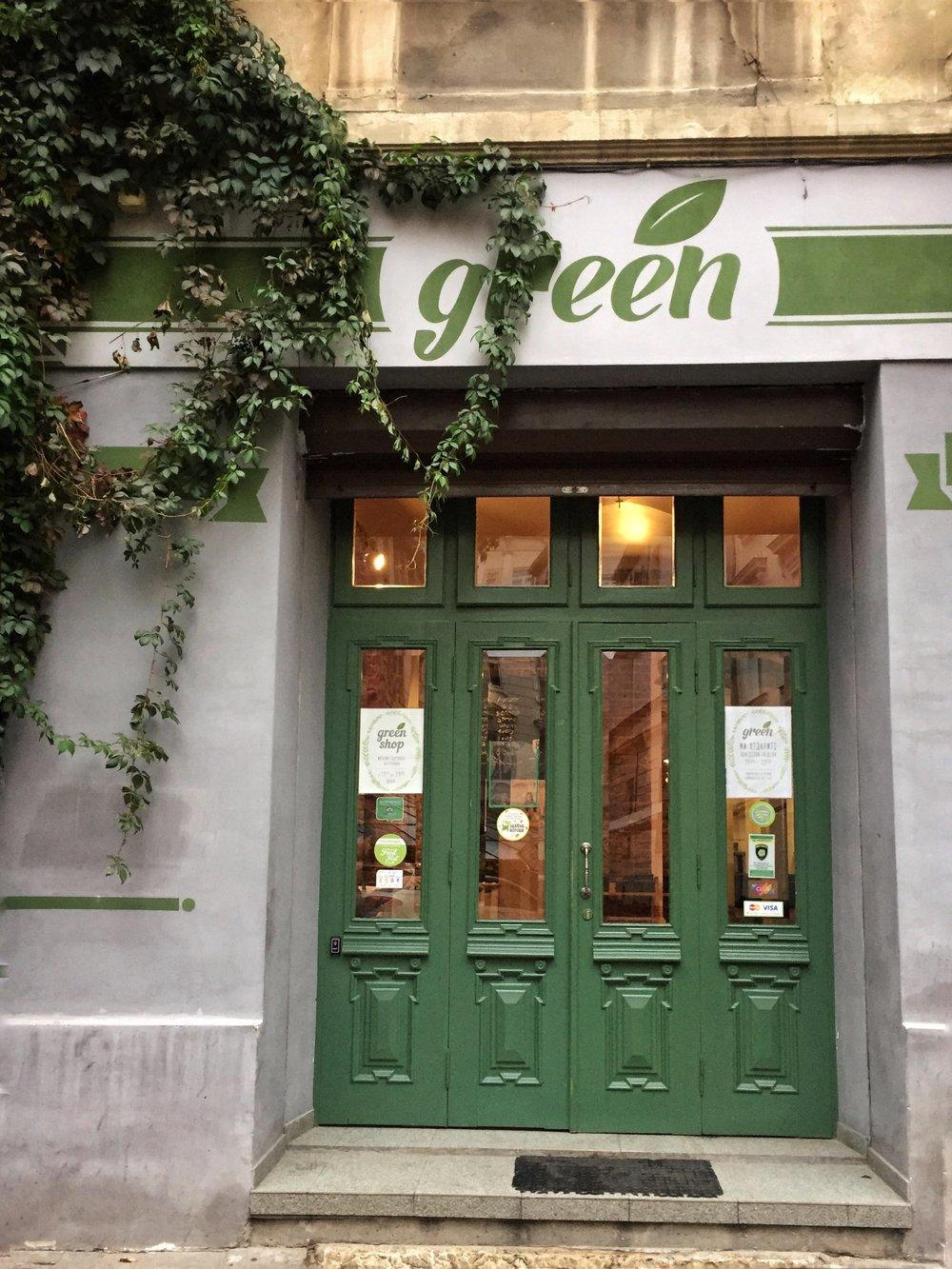 Green in Lviv